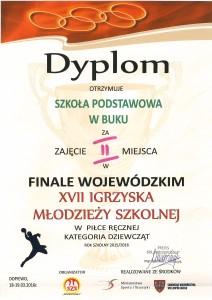 dyplom igrzyska XVII
