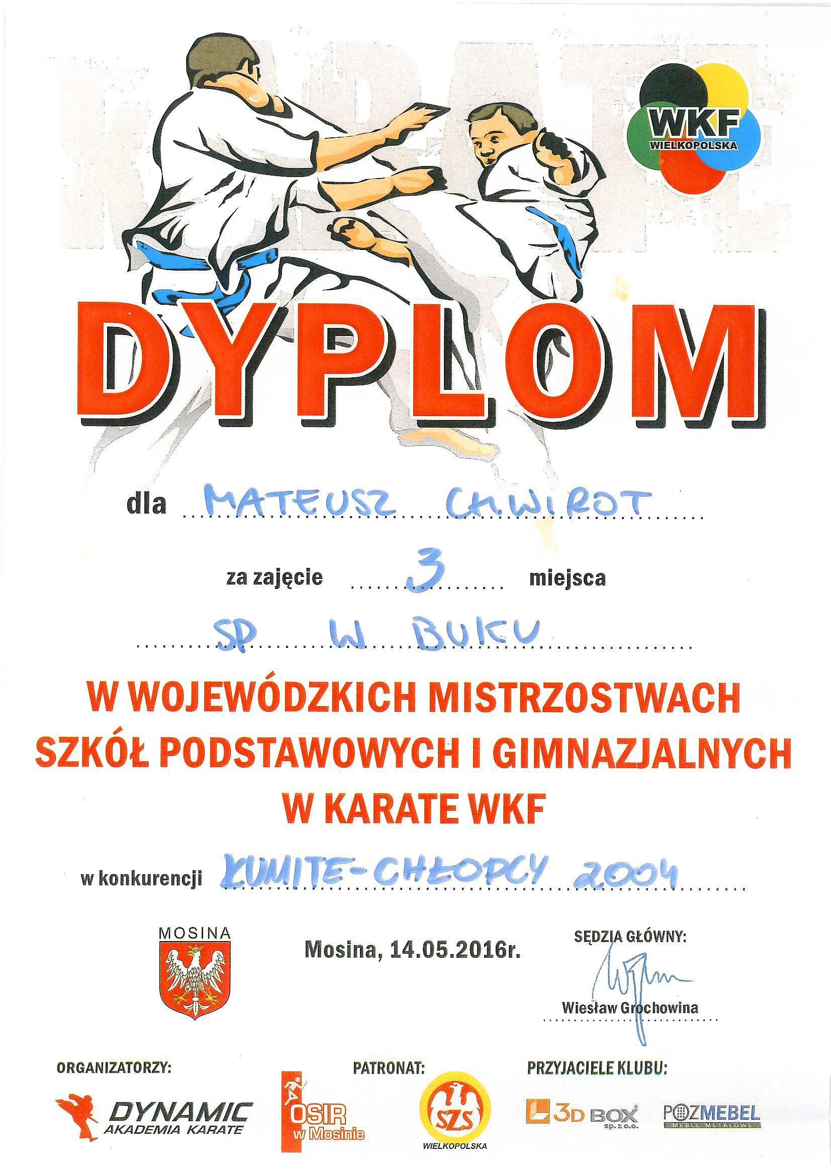 ff9a6cdf858cc mateusz chwirot dyplom – Szkoła Podstawowa im. Bohaterów Bukowskich ...