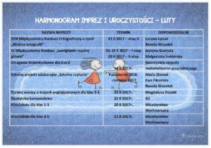 HARMONOGRAM LUTY
